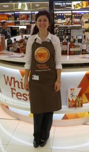 Promoción Whisky Festival con Mat-Woman 12