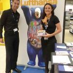 Promoción en Sala VIP Lufthansa con Mat-Woman 7