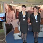 Promoción en Sala VIP Lufthansa con Mat-Woman