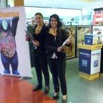 Promoción en Sala VIP Lufthansa con Mat-Woman 3